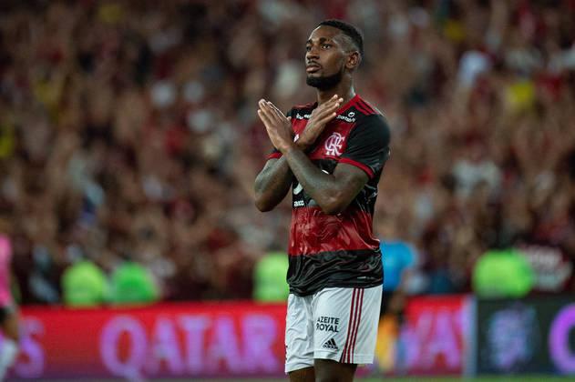 Gerson - 3 gols (em 43 jogos)