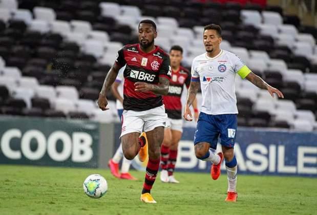 Gerson - 34 jogos; 1 gol; 3 assistências