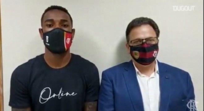 Gerson após depoimento em delegacia do Rio de Janeiro