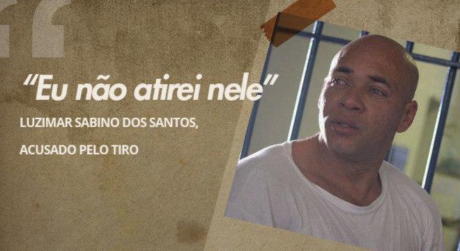Santos disse que é inocente do assalto que pôs fim à carreira de Gerson Brenner