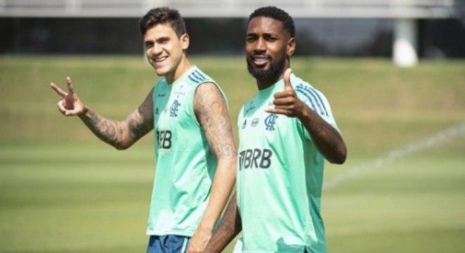 Gerson e Pedro - Flamengo
