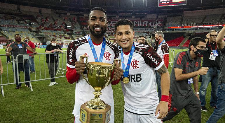 Gerson ajudou o Flamengo a ser campeão carioca mais uma vez
