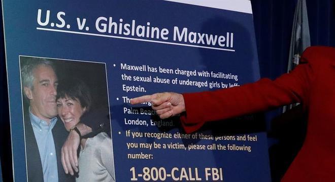 Promotora Audrey Strauss mostra as acusações contra Ghislaine Maxwell