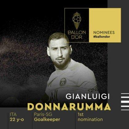 Gianluigi Donnarumma (italiano) - goleiro - Paris Saint-Germain
