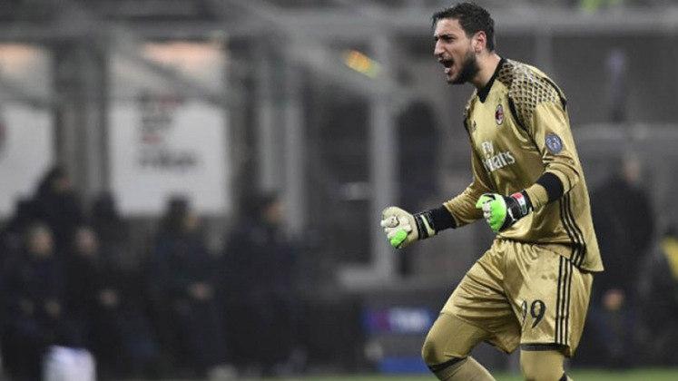 Gianluigi Donnarumma - Milan - 22 anos - Goleiro - Contrato até: 30/06/2021