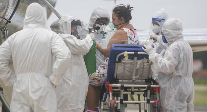 Paciente é transferida de Manaus (AM) a Teresina (PI)