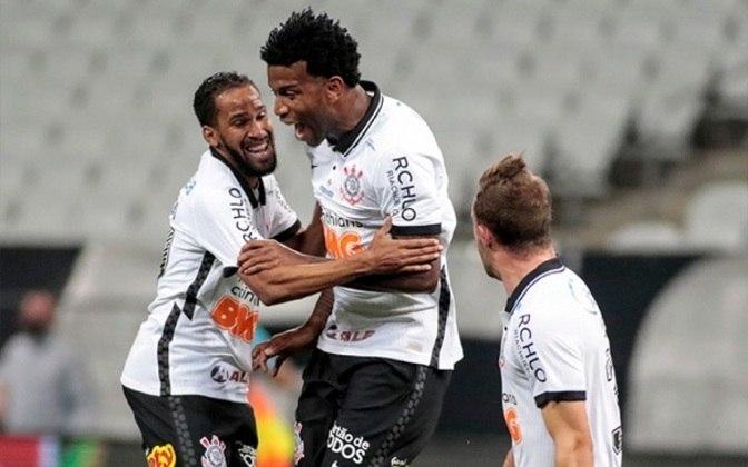 Gil - 4 gols: Um dos líderes da equipe, o zagueiro deixou sua marca quatro vezes em 2020, contra Flamengo e Bahia, no Brasileiro, e no Paulistão, contra Palmeiras e Novorizontino. Fez 38 jogos na temporada.
