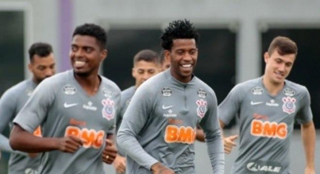 Gil - Treino Corinthians