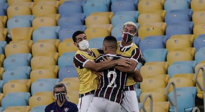 Gilberto abriu o placar para o Fluminense