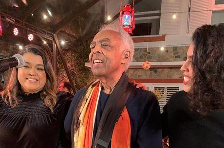 Live de Gilberto Gil bateu 1 milhão de visualizações