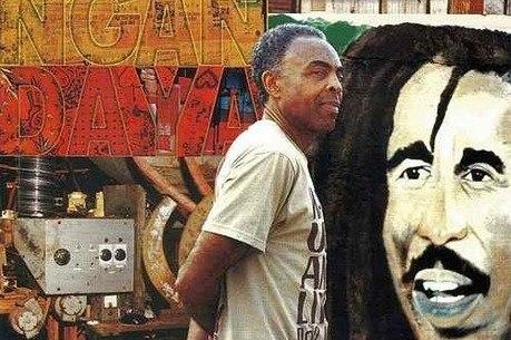 Fã de reggae, Gil gravou um CD na Jamaica