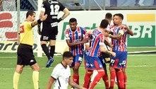 Com golaço, Bahia bate Corinthians e deixa a zona de rebaixamento