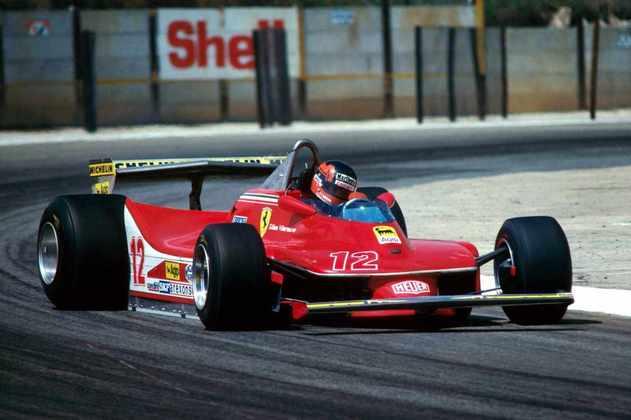 Gilles Villeneuve é considerado como um dos grandes pilotos da F1 sem título. O canadense morreu em 1982 em acidente no GP da Bélgica
