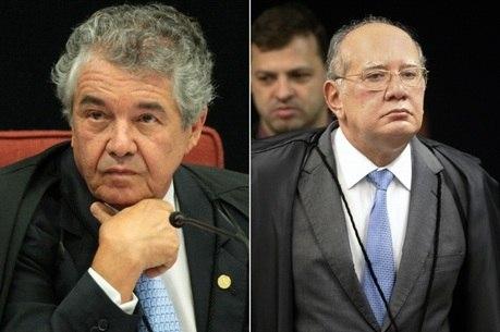 Marco Aurélio se recusou a analisar decisão de Mendes