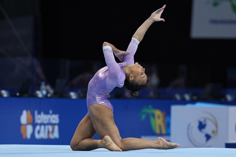 Lorrane Oliveira terá salto registrado com seu nome