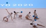 Ginástica rítmica, Brasil, Tóquio, Olimpíada, bolas