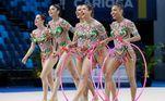 A equipe brasileira de ginástica artística faz sua estreia na Olímpiada e compete na qualificação em conjunto às 22hVeja também:80% dos brasileiros na Olimpíada de Tóquio recebem Bolsa Atleta