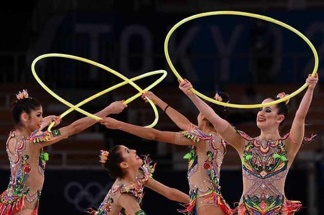 GINÁSTICA RÍTMICA - O Brasil se despediu dos Jogos Olímpicos sem garantir classificação para a final da ginástica artística. A equipe brasileira ficou em 12º lugar com 73.250 pontos.