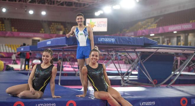 Com equipe renovada, Brasil busca medalhas na ginástica de trampolim