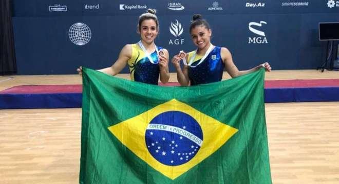 Dupla brasileira conquista inédito bronze no Mundial da modalidade