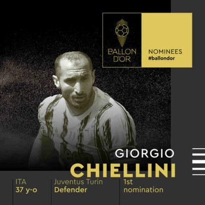 Giorgio Chiellini (italiano) - zagueiro - Juventus