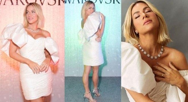 Para as mais fashionistas, o look usado pela Giovanna Ewbank pode ser uma inspiração para o Réveillon.