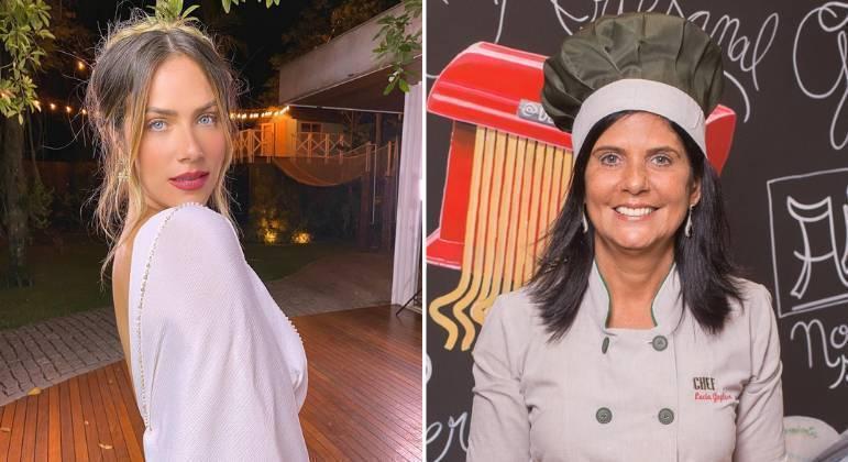 Giovanna Ewbank e a sogra, Lúcia Gagliasso
