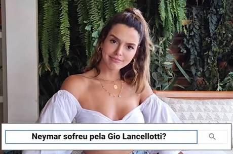 Giovanna Lancellotti falou sobre Neymar