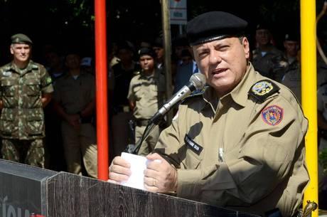 Coronel comandava a PM de Minas desde 2019