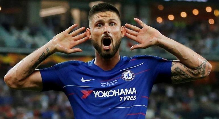 Giroud, do Chelsea