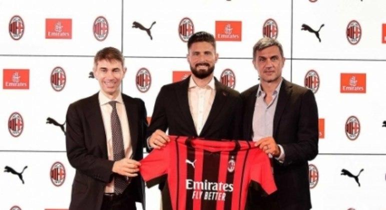 Giroud - Milan