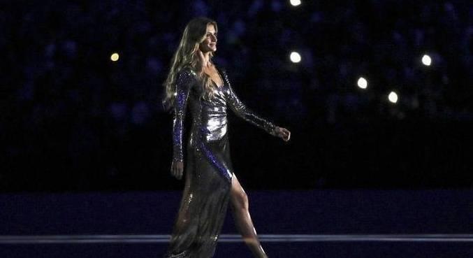 Gisele relembrou participação na abertura das Olimpíadas do Rio de Janeiro