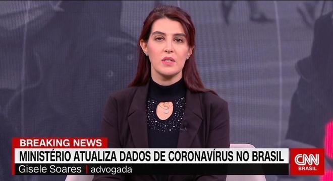 Gisele Soares ficou só um dia no ar