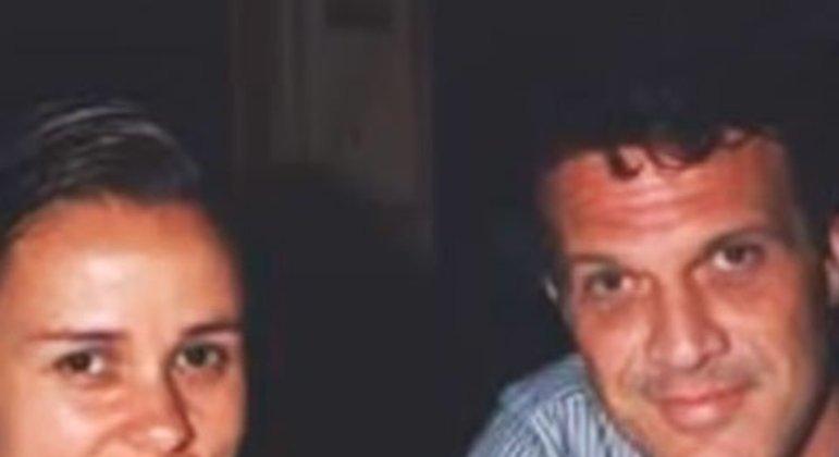 Giulia Gam e Pedro Bial
