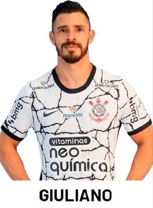 Giuliano - 6,5: Mais avançado, deu a assistência para o gol de Róger Guedes, também distribuindo o jogo para os companheiros de ataque.