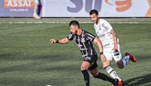 Santos e Corinthians empatam por 0 a 0 em jogo truncado