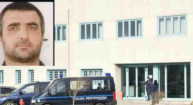 O mafioso Giuseppe Fanara mordeu e arrancou o dedo de um agente carcerário