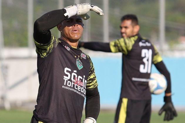 Gleibson é goleiro e joga pela Série C no Brasil