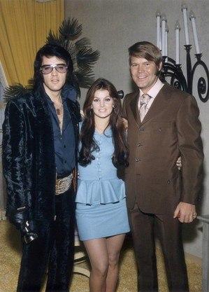 Elvis Presley e Glen Campbell