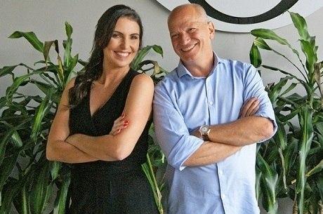 """Glenda Kozlowski e Elia Jr., os apresentadores do novo """"Show do Esporte"""""""