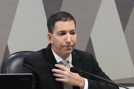 Greenwald esteve hoje em comissão do Senado