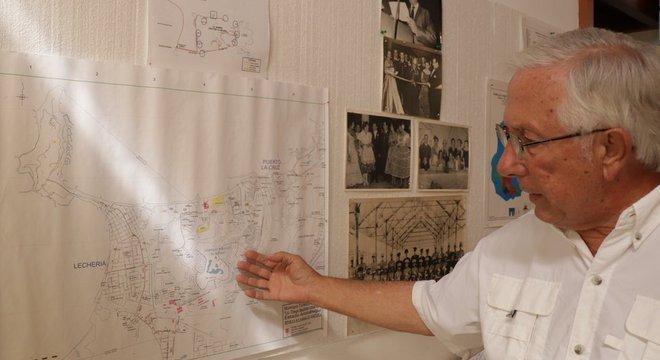 Glenn Sardi foi um dos engenheiros que participaram do projeto inicial desse exclusivo complexo turístico