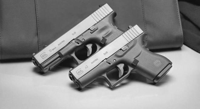 Arma da Glock, empresa situada na cidade que PMs irão visitar na Áustria