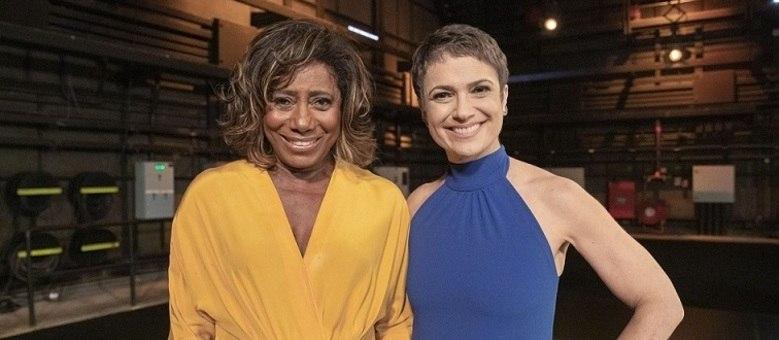 """Glória Maria e Sandra Annenberg, hoje, apresentadoras do """"Globo Repórter"""""""