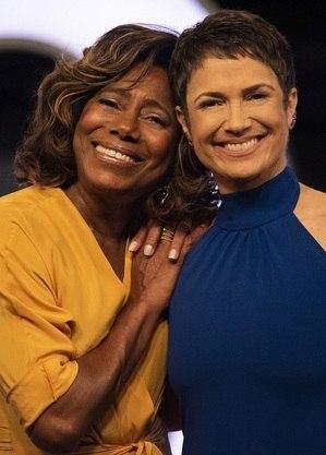 Gloria Maria e Sandra Annenberg: férias na Globo
