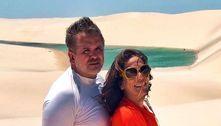 Com Orlando Morais internado, Gloria Pires se declara ao marido