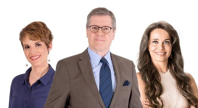 Gloria Vanique, Marcio Gomes e Carla Vilhena, novos apresentadores da CNN Brasil