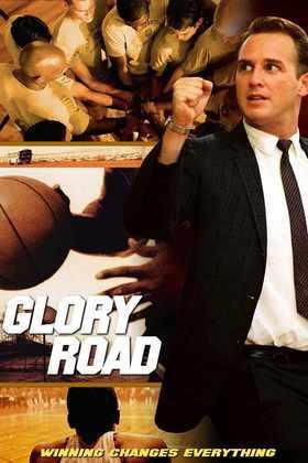 Glory Road (2006) - O filme Estrada para a Glória se passa nos anos 60, quando o técnico Don Haskins (Josh Lucas), que treinava uma equipe de basquete feminino, é convidado a comandar a Universidade de Texas Western (UTEP). Haskins, então, monta um elenco pouco provável para a época com cinco negros no quinteto titular e vence o torneio universitário contra Kentucky