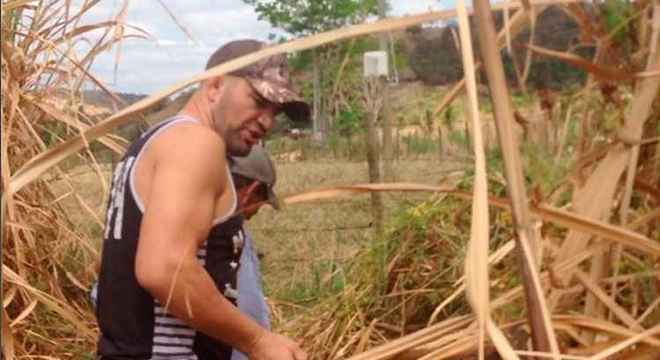 Glover relembra, em Sobrália, quando cortava cana para viver