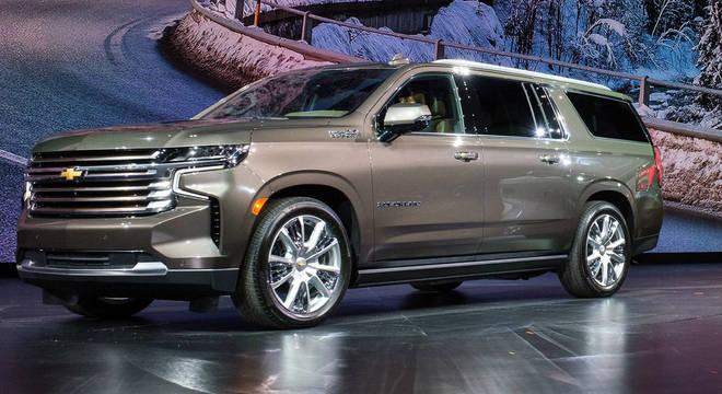 Chevrolet Suburban: inovadora no design mantém motores e não traz novidades na motorização